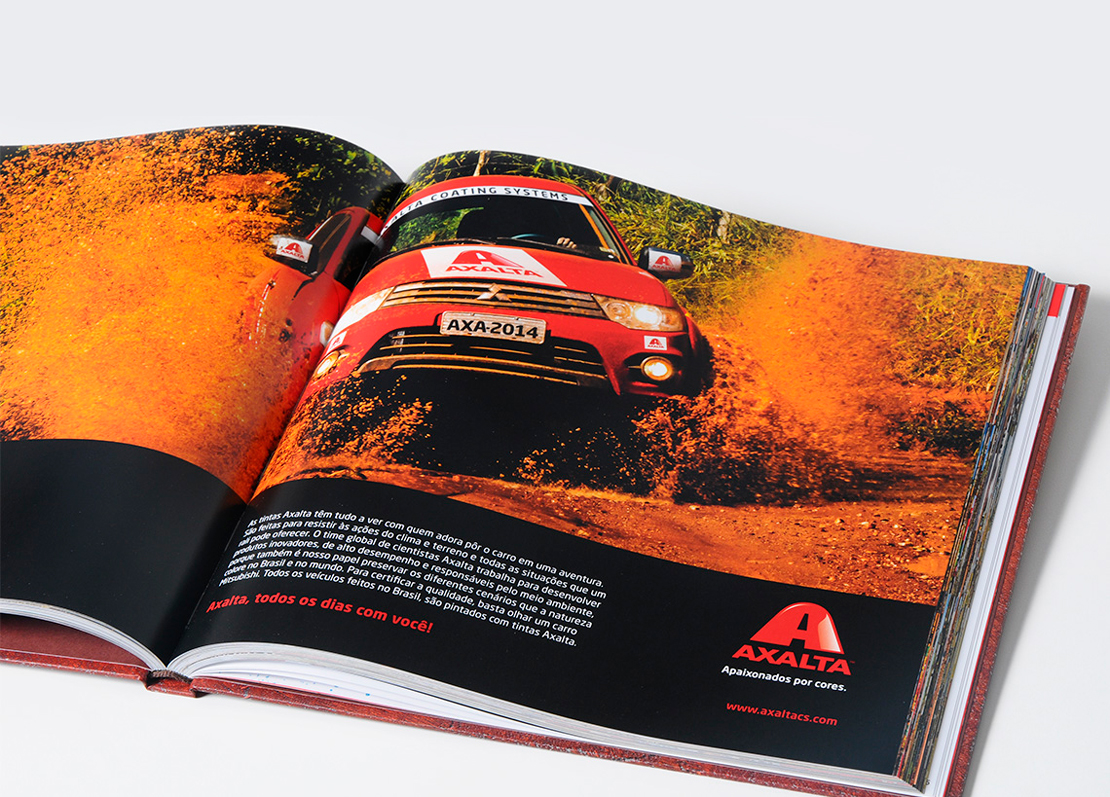 Livro Mitsubish Axalta