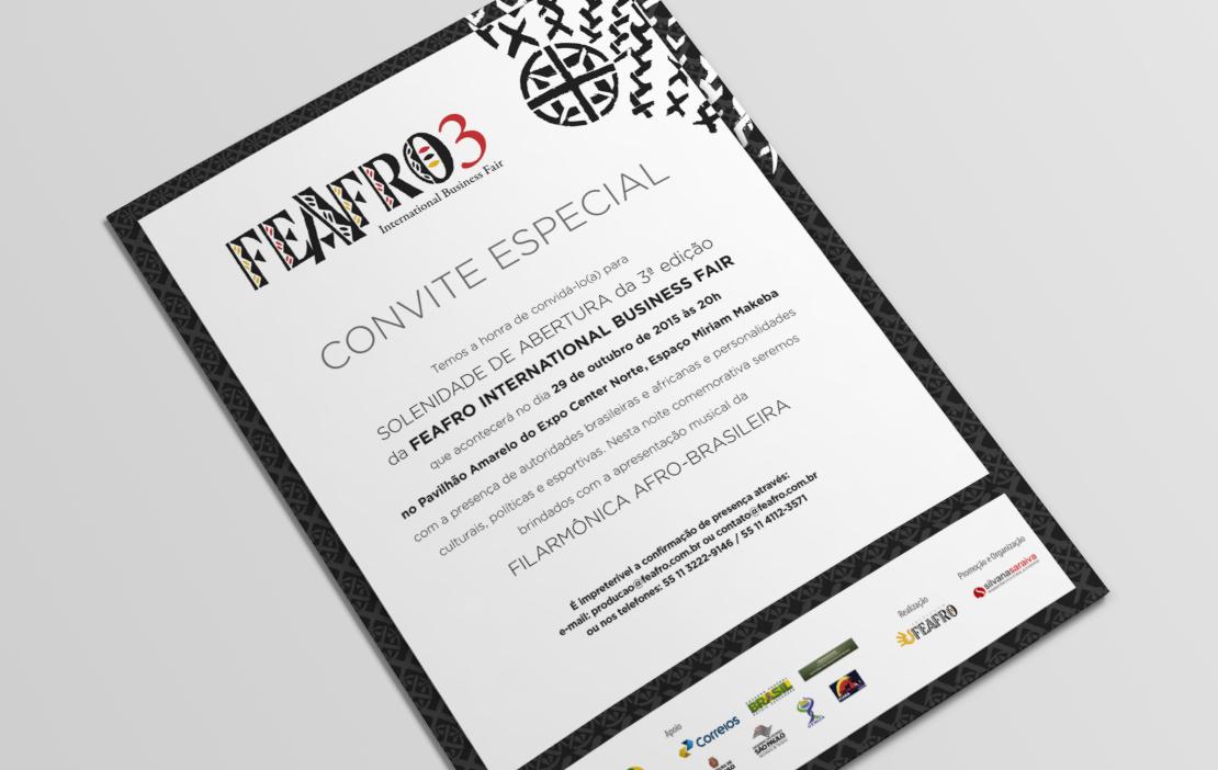 Convite Especial Feira Feafro